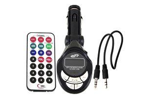 MP3 přehrávač do auta s ovladačem - dodání do 2 dnů