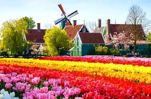 Amsterdam na 4 nebo 5 dnů, prohlídka skanzenu s větrnými mlýny, pivovar Heineken i královský palác.