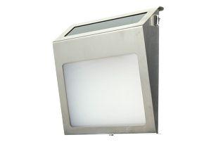Solární poštovní schránka se samolepicími čísly a písmeny