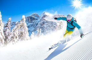 3–5denní letní lyžování pro 2 v Apartmánech Vachulka v rakouských Korutanech