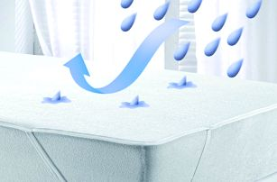 Spěte v suchu: PVC/froté matracové chrániče