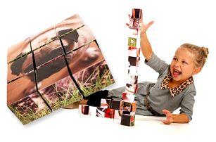 9 nebo 12 ks dětských kostek s vlastními fotografiemi