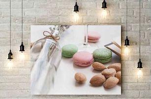 Fotoobraz z vlastních fotek tištěný na značkové plátno na dřevěném rámu, výběr ze 4 rozměrů