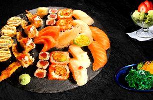 Lákavé sushi menu pro 2, závitky a zmrzlina