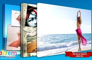 Fotoplátno s vaší vlastní fotografií jako stylová dekorace ve více rozměrech