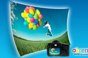 Maxi fotografie dle vlastního výběru jako originální dekorace na zeď v několika rozměrech