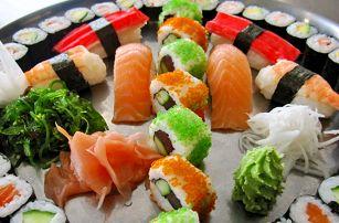 Japonský sushi set: 24 nebo 46 čerstvých kousků