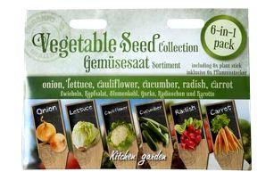 Osivo 6 druhů zeleniny - SLEVA blížící se datum spotřeby