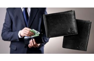 Pánské kožené peněženky MONOPOL