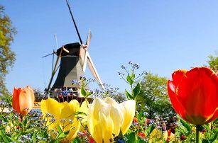 Zábavní park Walibi, tradiční skanzen a Amsterdam s 1 nocí a snídaní