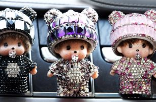 Osvěžovač do auta Mini Poppi: 11 designů v 5 vůních