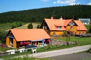 3–6denní wellness pobyt pro 2 s polopenzí a bazénem v chatě Smíchovská bouda v Krkonoších