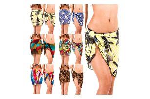 Barevný plážový šátek na boky Nayeli