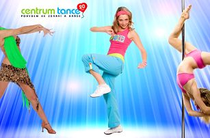 Přenosná permanentka na 7 lekcí v Centru Tance