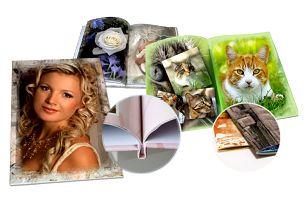 Luxusní fotokniha v různých formátech z vašich fotografií