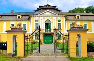 Romantický pobyt na zámku na Vysočině + snídaně nebo polopenze
