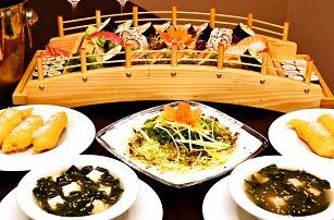 Sushi menu až pro 4 osoby v stylové restauraci