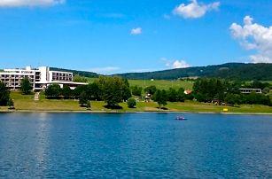 Léto u nádrže Luhačovice s polopenzí i bazénem