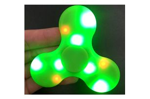 Fidget Spinner s LED světýlky a bluetooth - 4 barvy