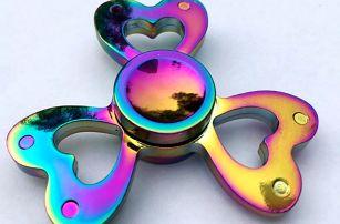 Dívčí duhové fidget spinnery - 8 druhů