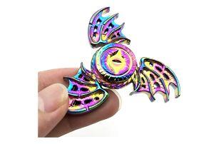 Fidget spinner s dračími křídly - více variant