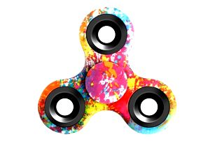 Originálně barvený Fidget spinner - 5 druhů