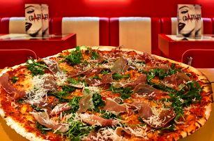 Pořádná porce: 2 pizzy o průměru 42 cm