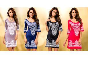 Úžasné letní šaty v boho stylu