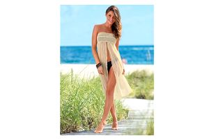 Letní plážové šaty/sukně