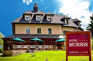 3denní wellness pobyt s polopenzí pro 2 v Golf Hotelu Morris**** v Mariánkách