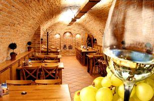 3 až 6denní pobyt pro 2 se snídaněmi a konzumací vína v penzionu Sklep na Moravě