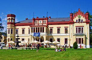 Západní Čechy na zámku Mostov s neomezeným wellness i polopenzí