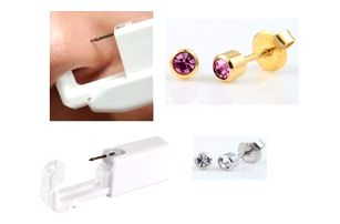 Sada na piercing Trendy Jewelry