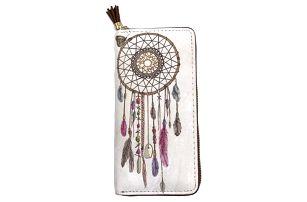 Dámská peněženka s indiánským vzorem - lapač snů - dodání do 2 dnů