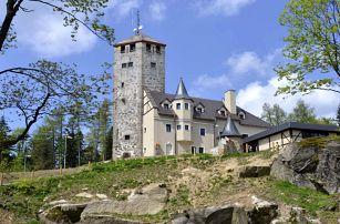 Hotel Liberecká výšina s polopenzí a vstupenkami na rozhlednu