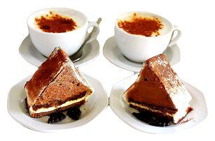 2x káva + 2x dezert dle výběru pro 2 osoby na Praze 10
