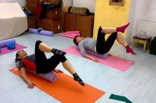Lekce cvičení pilates: 1-10 vstupů na 55 minut pro posílení celého těla