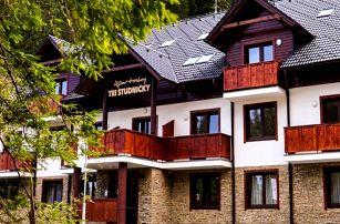 3–8denní letní pobyt v apartmánech Tri Studničky*** v Nízkých Tatrách pro 2 až 4+1 osoby