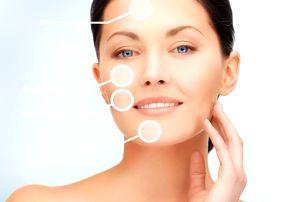 Kosmetické ošetření pleti v salonu Art Nails, čistění pleti, peeling, napařování, masáž obličeje aj.