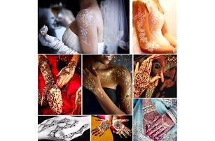 Šablony na tetování hennou