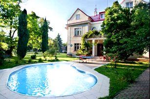 Pobyt v Praze v hotelu Marie-Luisa*** s bazénem pro 2 osoby