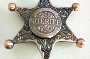 Fidget spinner SHERIFF