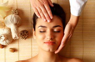 Osvěžující masáž obličeje, rukou a nohou vč. masky