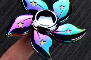 Antistresová pomůcka fidget spinner - stylové varianty