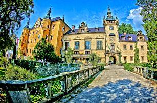 Relax na polském zámku Kliczków: bohatá polopenze, bazén i sauna