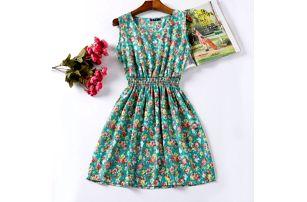 Rozmanité letní šaty - vzor: 14, velikost: 3 - dodání do 2 dnů