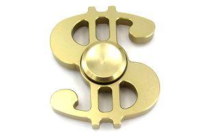 Kovový fidget spinner US Dolar: na výběr 5 barev