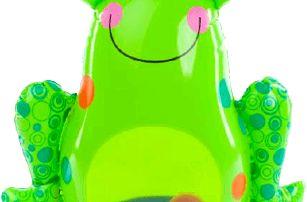 TEDDIES Roly Poly - nafukovací žába