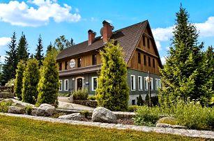 6denní pobyt s polopenzí a saunou pro 2 v hotelu Perla Jizery v Jizerkách