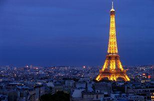 Letní Paříž 21. - 24.8.2017, 4-denní poznávací zájezd do Paříže za 2099 Kč za osobu